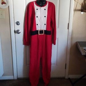 2 for $15 Adult Santa one piece Pajama